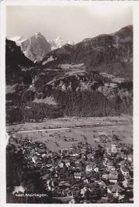RP; Aerial View, Meiringen, Bern, Switzerland, 10-20s