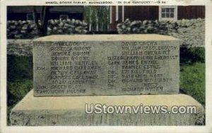 Daniel Boone Tablet - Boonesboro, KY