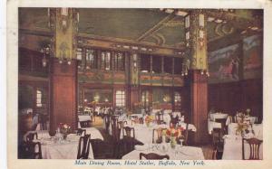 BUFFALO, New York, PU-1909; Main Dining Room, Hotel Statler