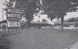 North Carolina Greensboro Maplewood Motel And Restaurant