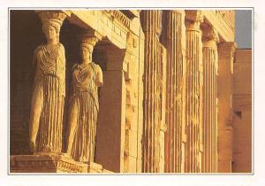 Greece Athens The Caryatides at the Acropolis