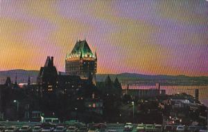 Canada Quebec La Cite Quebec At Twilight 1968