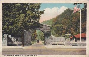 New York Watkins Glen Entrance