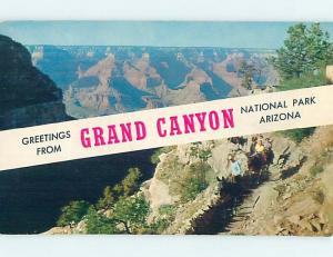 Pre-1980 GRAND CANYON National Park Arizona AZ HJ7433