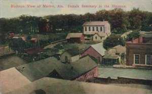 Alabama Marion Birds Eye View Female Seminary In The Distance