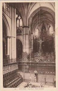 Spain Toledo Catedral Vista interior
