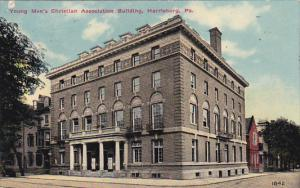 Pennsylvania Harrisburg Y M C A Building 1911