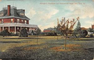 Erie Pennsylvania Hammermill Paper Mill Managers House Antique Postcard K28087