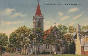 BELMAR , New Jersey , 1930-40s ; Saint Rose's Catholic Church