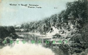 1913 Peru IN PC: View of Bluff Scene, Sky Tint