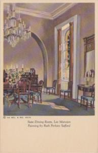 Virginia Arlington Lee Mansion State Dining Room Painting By Ruth Perkins Saf...