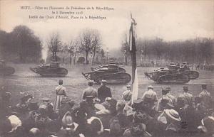 France Metz Fetes en l'honneur du President de la Republique le 8 Decembre 19...