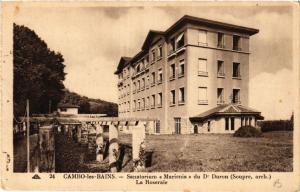 CPA CAMBO-les-BAINS Sanatorium Marienia du Dr Duron-La Roseraie (411864)