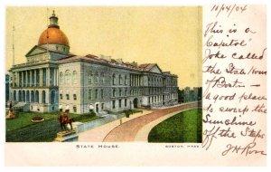 Massachusetts   Boston  State  House