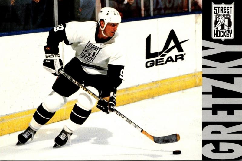 Advertising LA Gear Wayne Gretzky