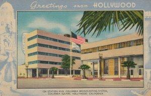 HOLLYWOOD , California, 1930-40s ; Station KNX, CBS
