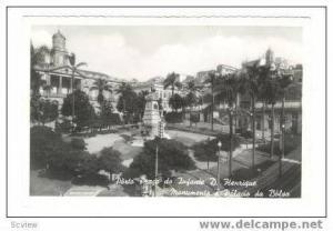 RP Porto Praca do Infante D. Henrique, Monumento e Palavio da Balsa,Portugal,...