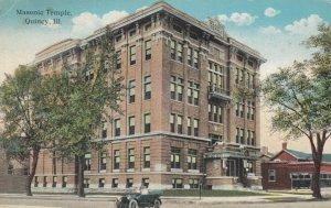 QUINCY , Illinois, 1900-10s ; Masonic Temple