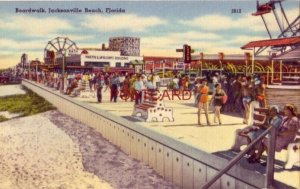 BOARDWALK, JACKSONVILLE BEACH, FLORIDA a delightful fun spot