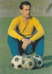 Professional Soccer Player, German Football Player Hans Tilkowski, ARAL, Germ...