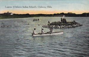 Boats On The Lagoon Chilocco Indian School Chilocco Oklahoma