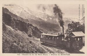 MOTIVON, France , 00-10s ; Chemin de fer du Mont Blanc, Railroad Station