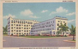 Plaza Hotel, overlooking beautiful Bayfront Park adn Biscayne Bay, Florida, 3...