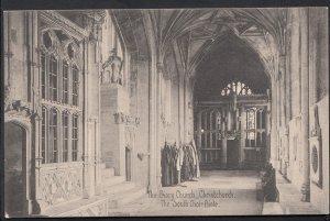Dorset Postcard - The Priory Church, Christchurch - The South Choir Aisle  A6415