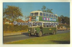 tm5562 - Maidstone & District Bus no DH162 to Maidstone - postcard