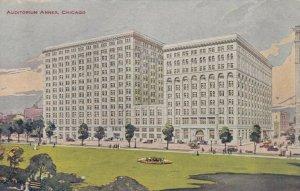 CHICAGO , Illinois, 1908 ; Auditorium  Annex