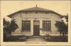 Hammam-Bou-Hadjar Algeria Telegraph Telephone Office c1915 Postcard