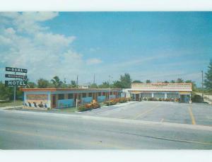 Unused Pre-1980 MOTEL SCENE Dania Florida FL HJ9677-22