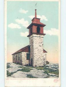 Divided-Back ISLE OF SHOALS CHURCH Star Island - Isle Of Shoals NH A9728
