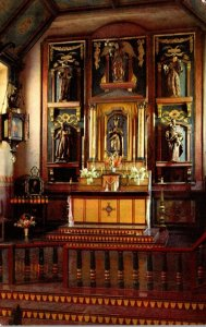 California San Gabriel Mission Founded 1771 The Altar