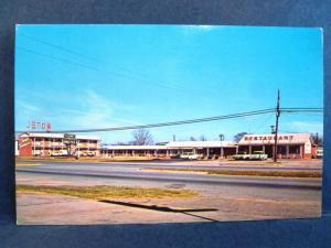 Postcard AL Eufaula Town Terrace Motel & Restaurant