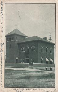 REIDSVILLE , North Carolina, 1910; Post Office