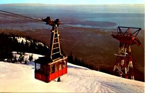 Canada - BC, North Vancouver. Grouse Mountain  (Aerial Lift)