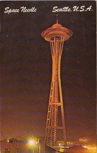 Space Needle Seattle Washington 1969