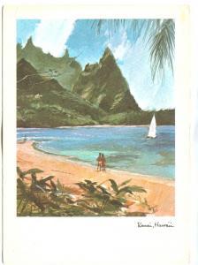 Kaui, Hawaii, 1967 unused Postcard