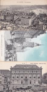 Calais Hotel De Ville French Market 3x Postcard s