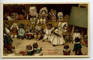 Cats Nister Cats Academy Postcard