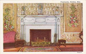 Mississippi Natchez Fireplace In Propinquity Built In 1790s