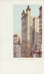 NEW YORK CITY, PMC 1898 ; Park Row Building