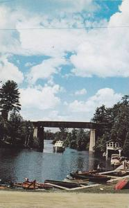 Shoreline View of Rideau Canal As Seen From Simmons Fishing Vacation Lodge, C...
