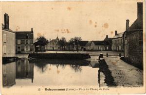 CPA BOISCOMMUN-Place du Champ de Foire (185325)