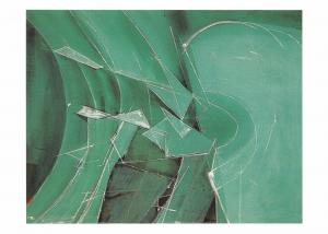 Postcard Art Splintered Ice No.1 by Wilhelmina Barns-Graham MU2552 #2733