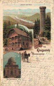 Germany - Gruss vom Königsstuhl bei Heidelberg -  03.91