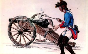 British Artilleryman of 1757