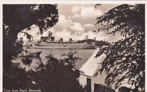 Bermuda A View From Paget Real Photo