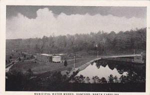 Municipal Water Works, Sanford, North Carolina, 1930-1940s